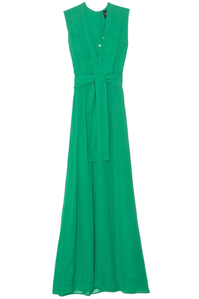 Long Ida Dress in Green