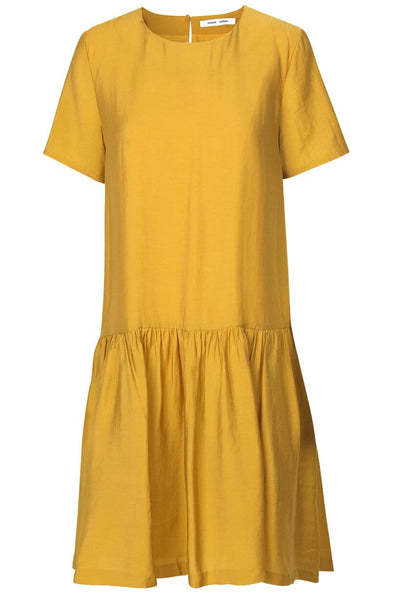 Mille Short Sleeve Dress in Honey