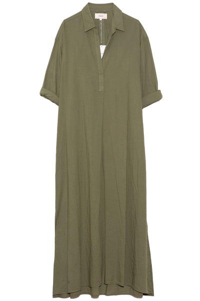 Hope Dress in Olive Palm