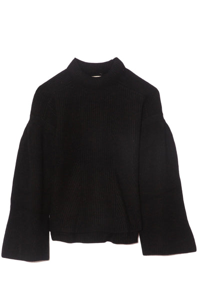 Gargalo Oversize Sweater in Black