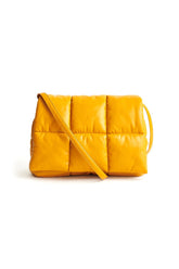 Wanda Clutch Bag in Mustard