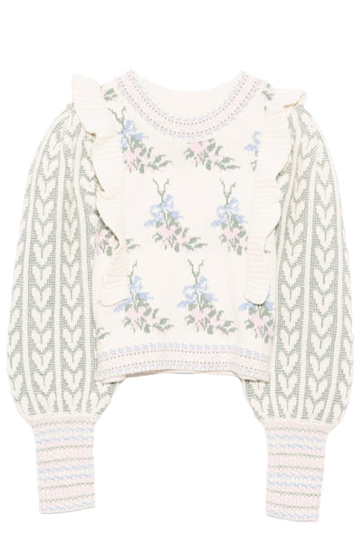 Warwick Pullover in Dew Drop Cream