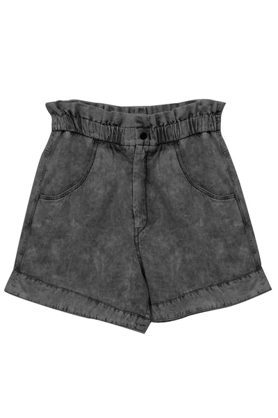 Itea Shorts in Faded Black