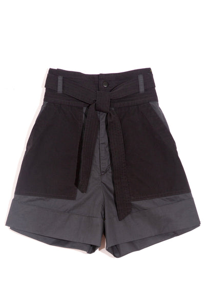 Gabriette Combo Shorts in Charcoal