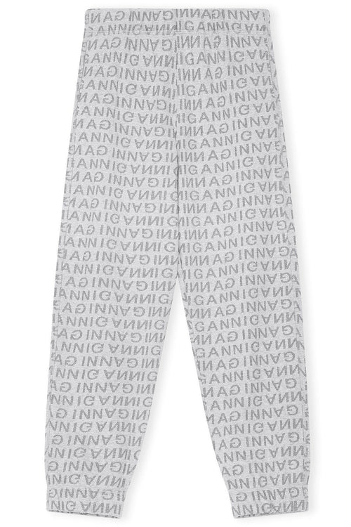 Jacquard Isoli Sweatpants in Paloma Melange