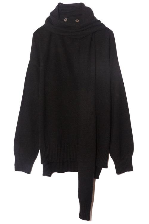 Spano Scarves Sweater in Black