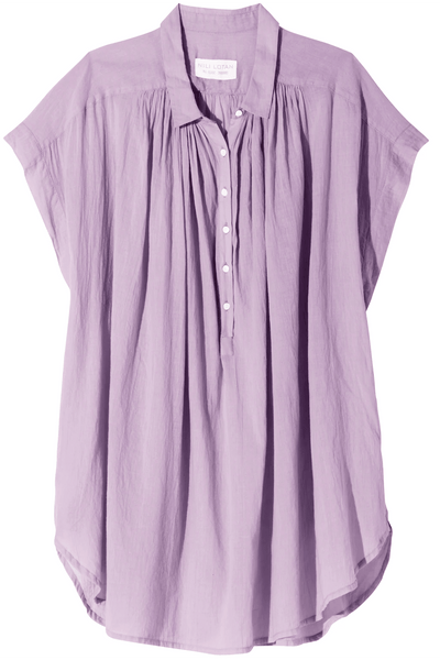 Normandy Blouse in Lilac