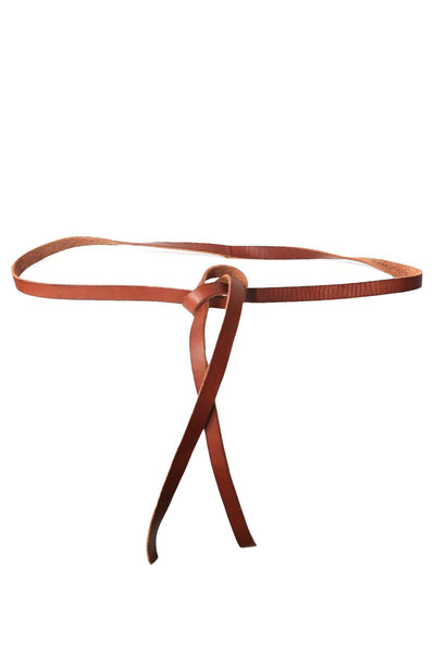Leather Belt in Miele