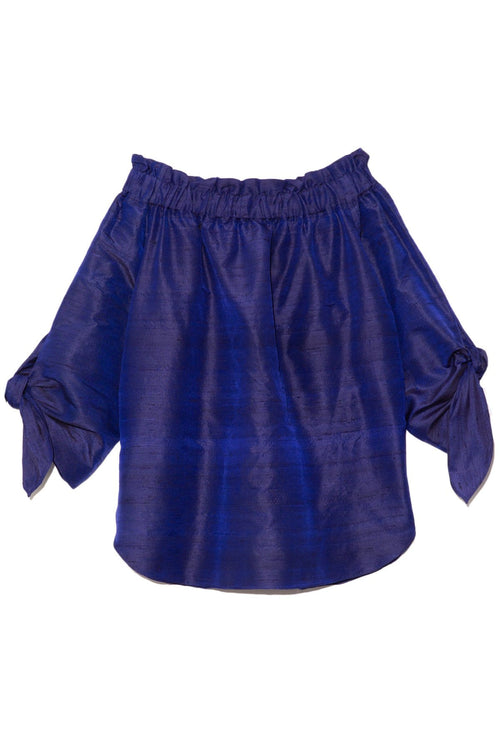 Levantina Top in Night Blue