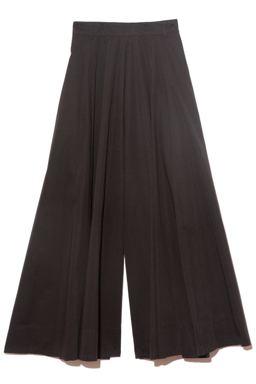 Wide Leg Pants in Nero