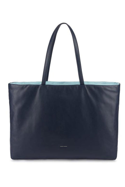 Pillow Bag in Blu/Degas Blue