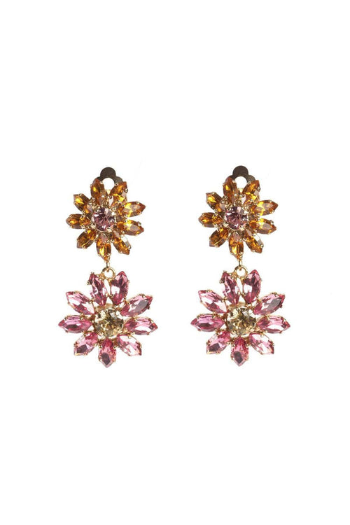 Utopia Earrings in Rose/Yellow