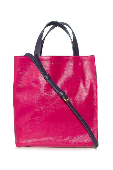 Museo Shopping Bag in Fuschia/Grey