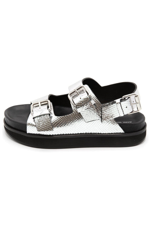 Ophie Sandal in Silver
