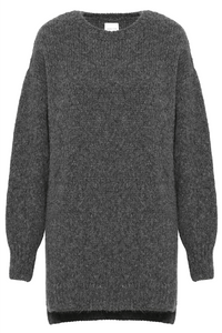 Kyle Sweater Dress in Grey