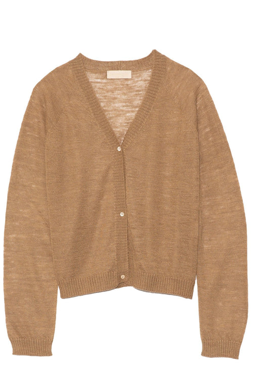 La Spezia Cardigan in Rope Brown