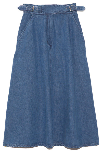 Roam Skirt in Classic Indigo