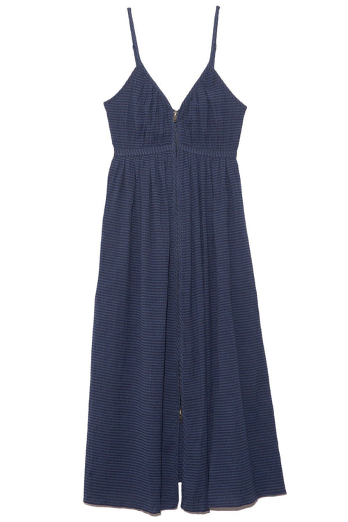 Enrica Dress in Navy Blue