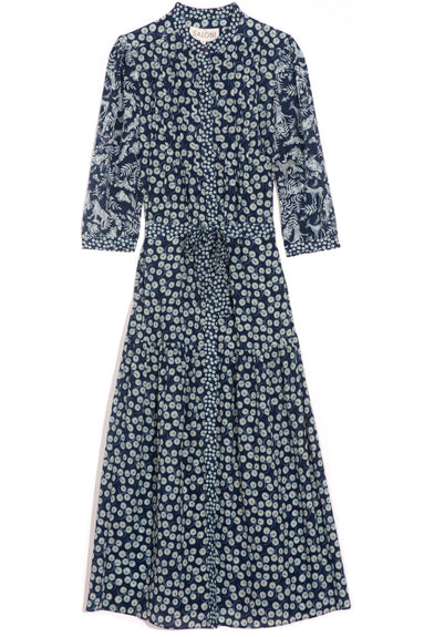 Remi-C Dress in Navy Aspen