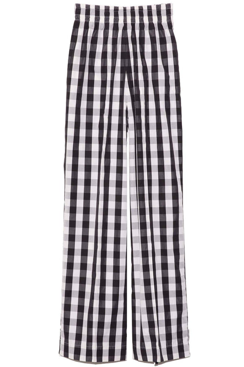 Tillie Cotton Pant in Bold Black Check