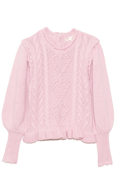 Calantha Pullover in Cherry Blossom Pink