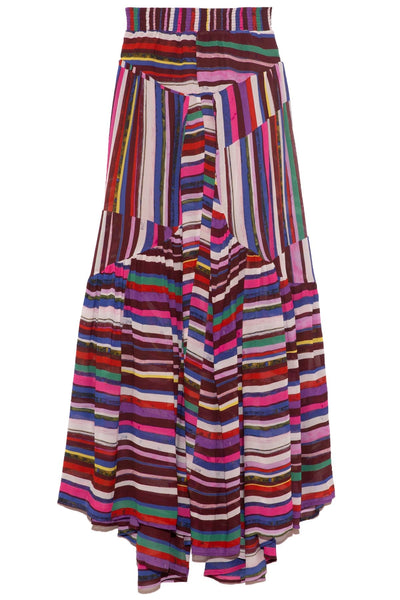 Deia Skirt in Dark Stripe
