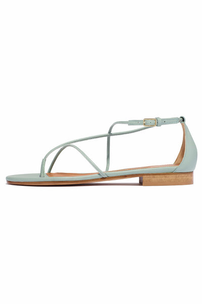 String Sandal in Celadon