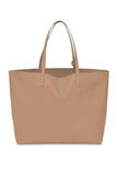 Oversized Tote in Biscotto