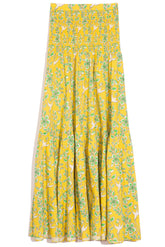 Jana Skirt in Yellow Eden