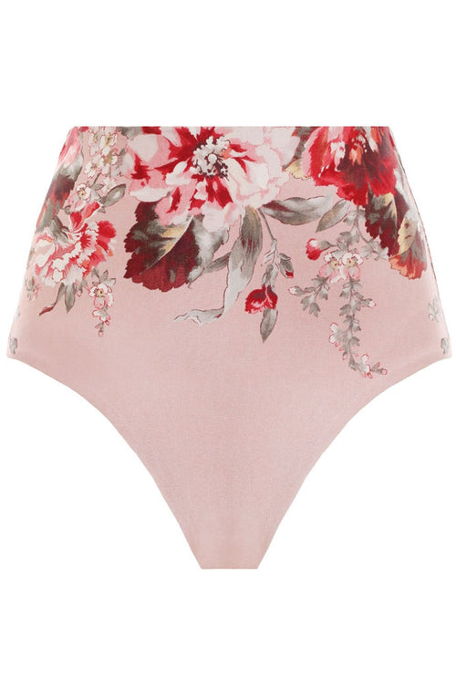 Cassia High Waisted Swimsuit in Musk Floral
