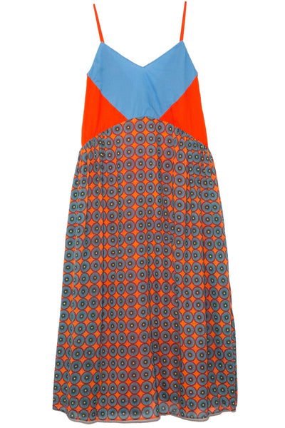 Lola Dress in Mixed Print