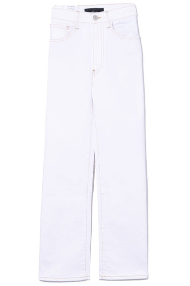 Joni Wideleg Jean in Winter White