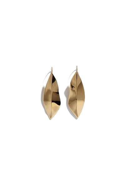 Small Liv Earrings in 14k Gold Plate