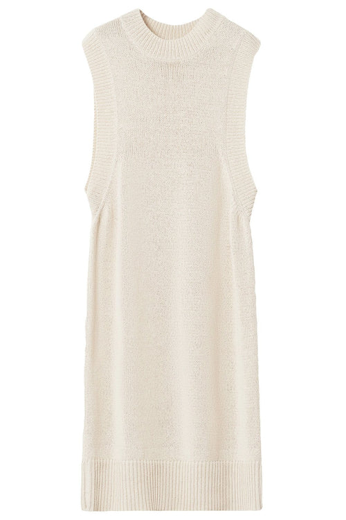 Chaima Dress in Creamy Ivory