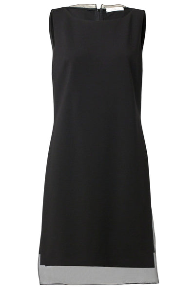 Emotional Essence Sleeveless Dress in Pure Black