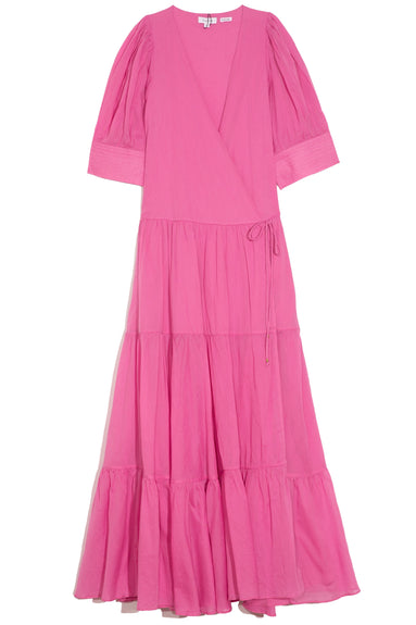 Gina Dress in Prism Pink