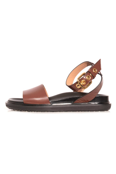 Fussbett Sandal in Rock