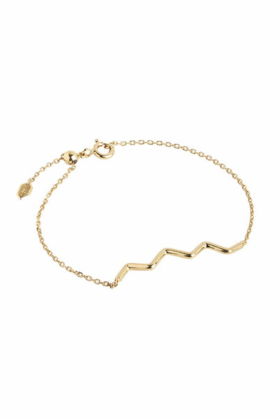 Fusilli Bracelet in Gold
