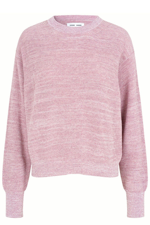Anna Crew Neck in Mauve Shadow