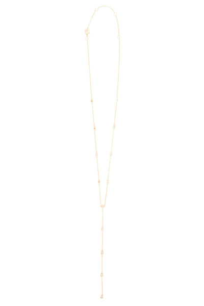 Lariat Necklace in 14k Gold