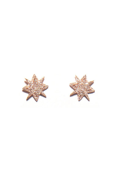 Starburst Earring in Rose Gold