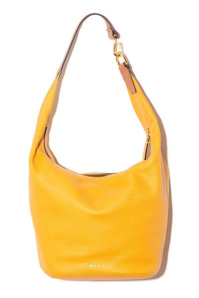 Small Pierce Bag in Mustard/Cinnamon