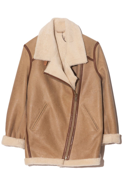 Azare Coat in Beige