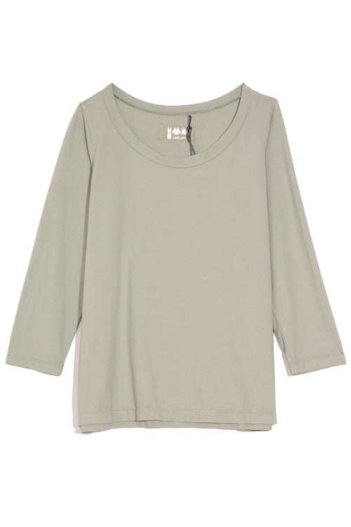 Uovo Jersey Top in Sage