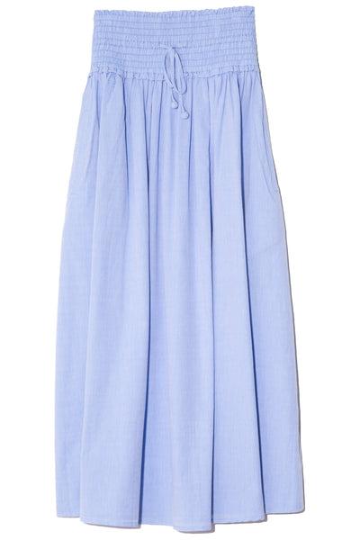 Nueva Wabi Sabi Skirt in Chambray