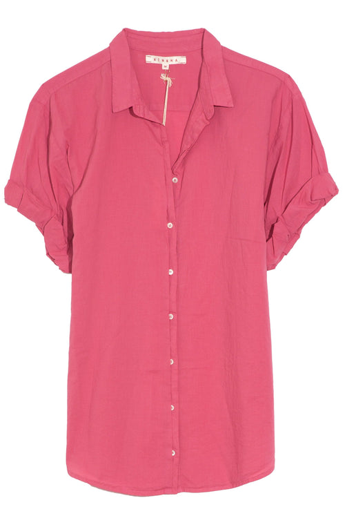 Channing Shirt in Rose