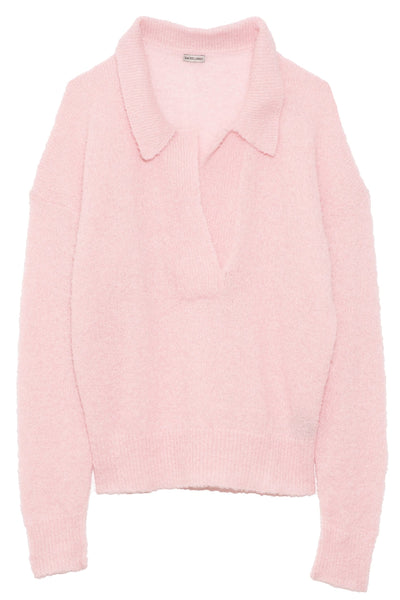 Rosario Top in Light Pink