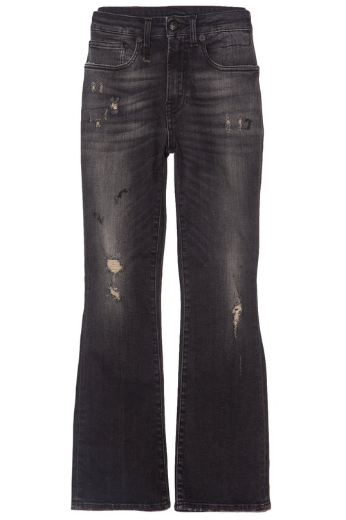 Kick Fit Jean in Strummer Black