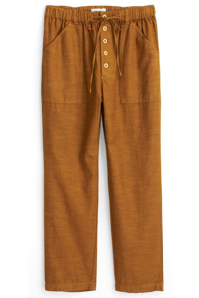 Ambrose Pant in Golden Khaki