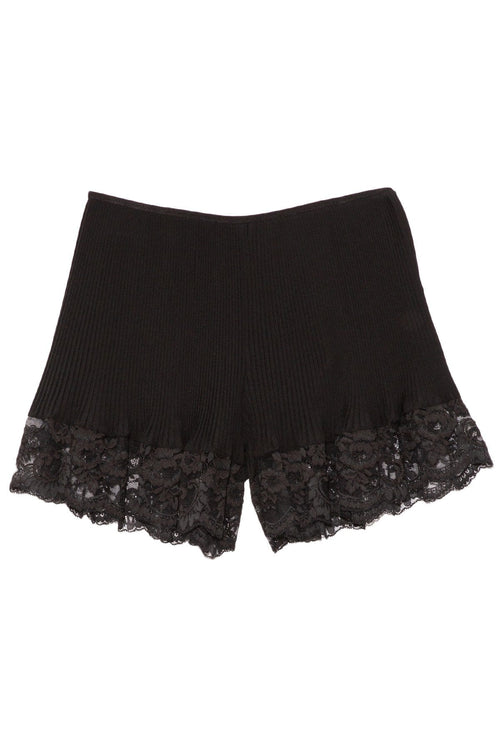 Lace Short in Black
